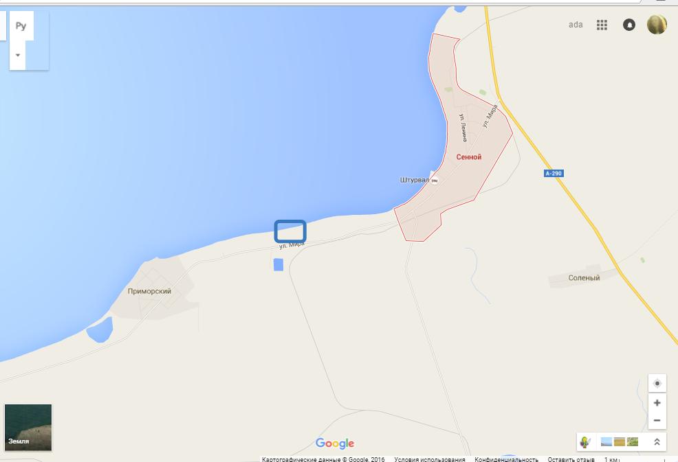 Поселок Сенной - Фанагория