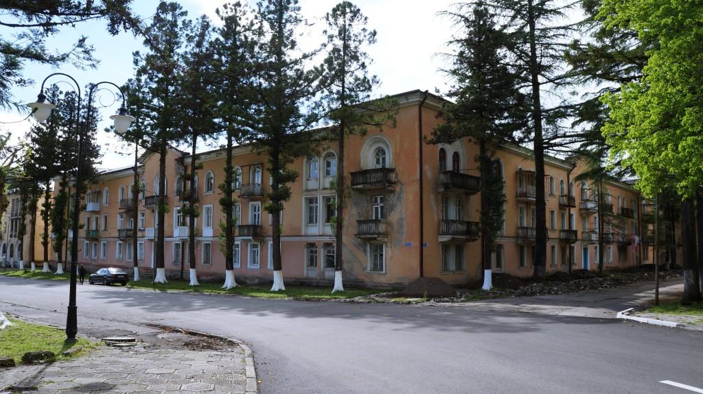 Ткварчал Абхазия - заброшенный город