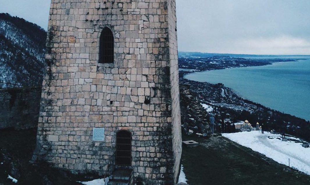 Как добраться до Анакопийской крепости в Новом Афоне