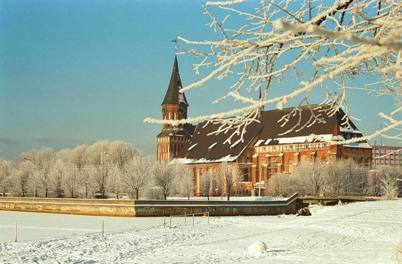 Поездка в Калининград зимой
