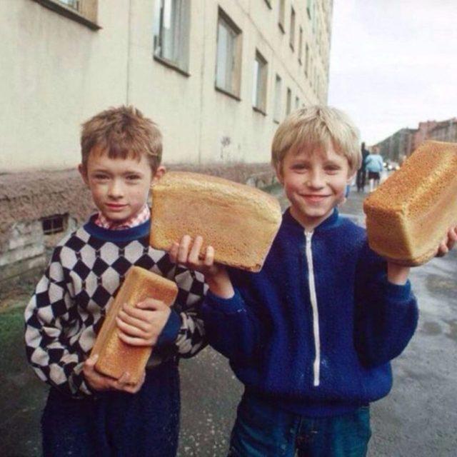 Происхождение слова хлеб