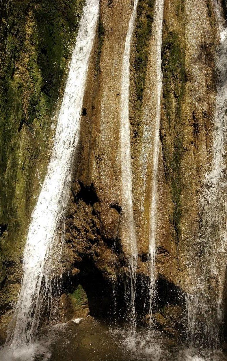 Пасть дьявола - Гебиусские водопады