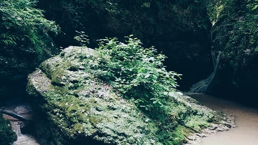 Хаджохская теснина - водопады Руфабго