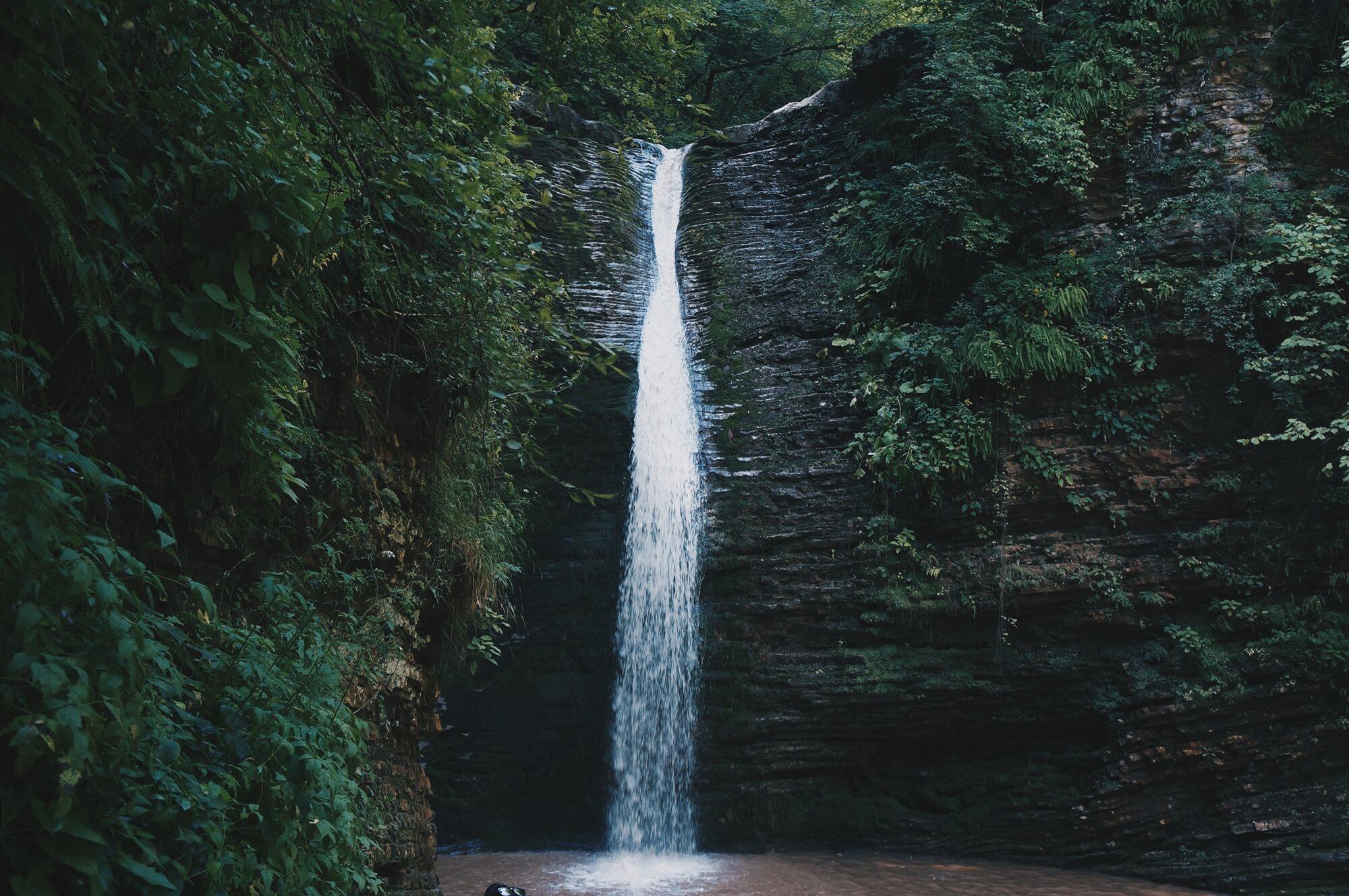 водопады Руфабго - Хаджохская теснина - маршрут