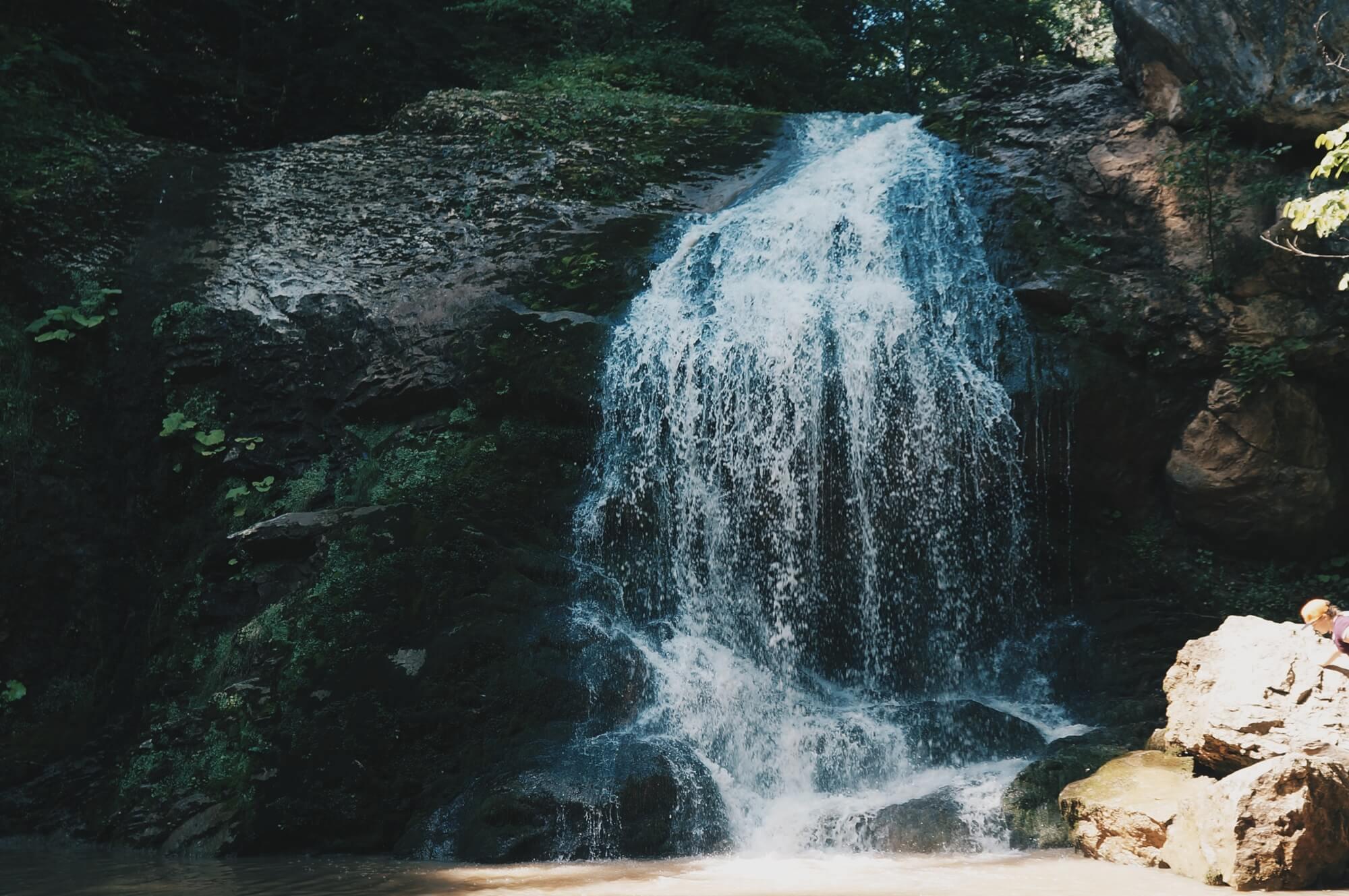 водопады Руфабго Адыгея