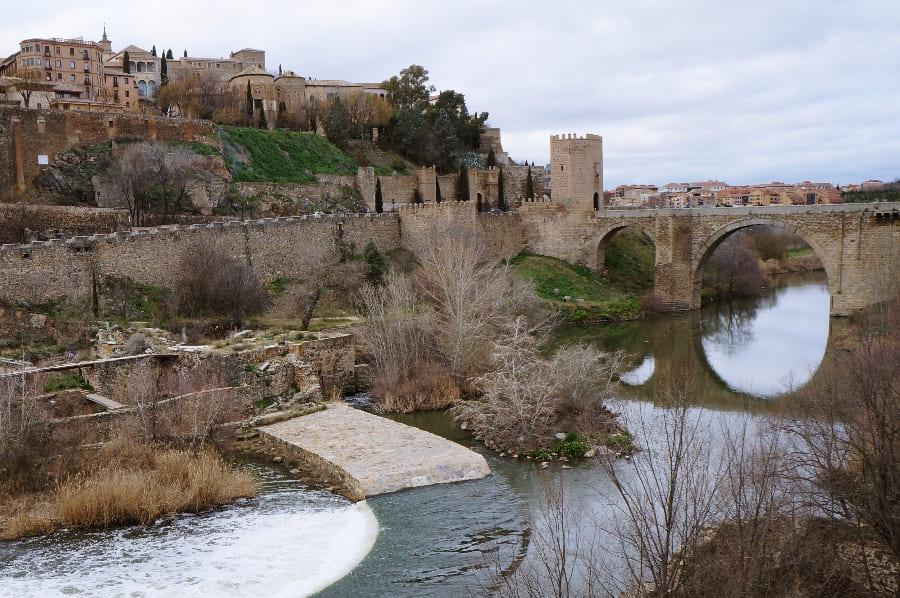 Мосты Толедо: Алькантара и Сан-Мартин