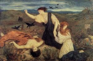 Antigone, Maria Euphrosyne Spartali, later Stillman Marie STILLMAN (1844-1927)