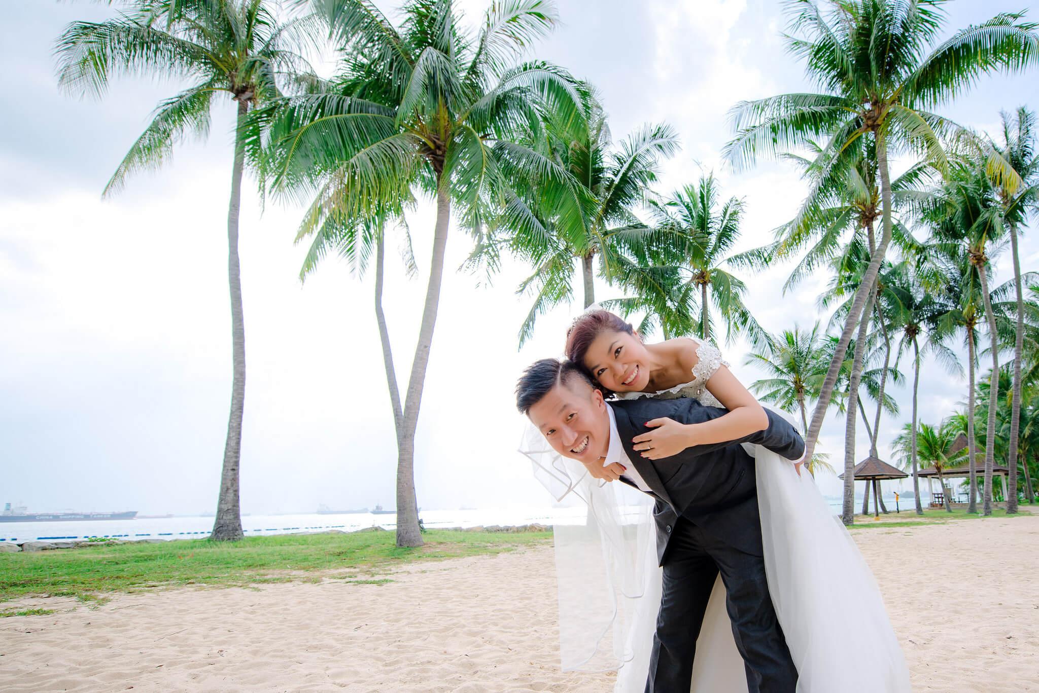 Свадьба на острове Сентоза