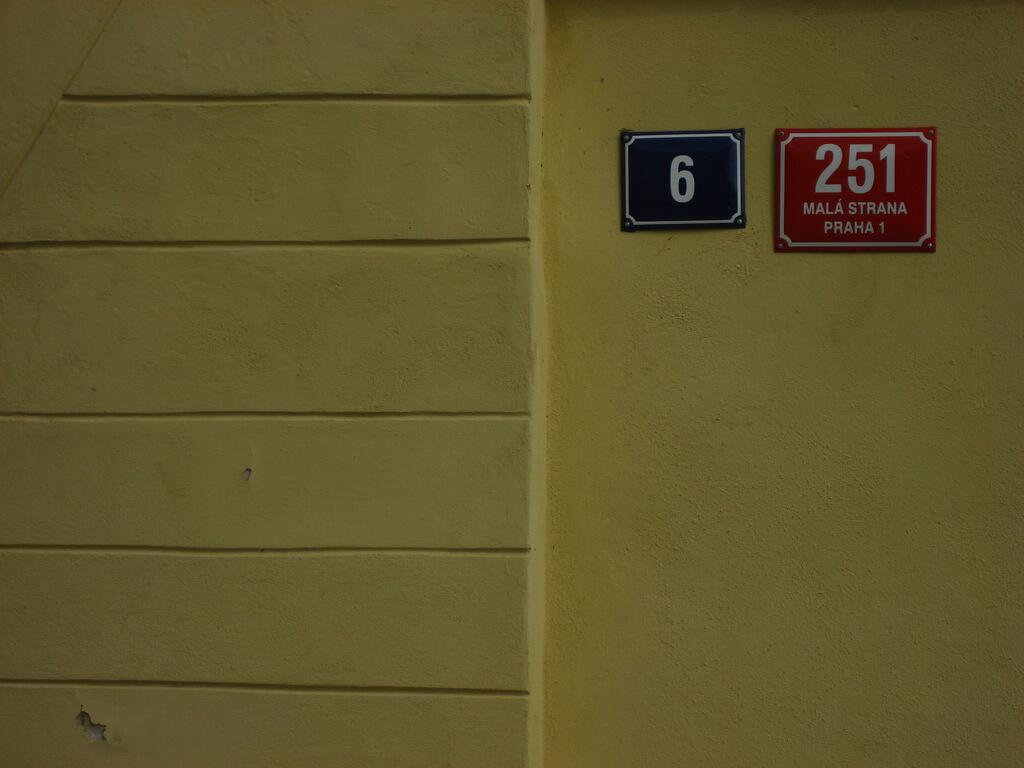 Prague house number