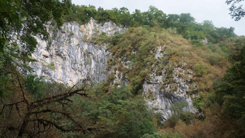 Наскальный монастырь