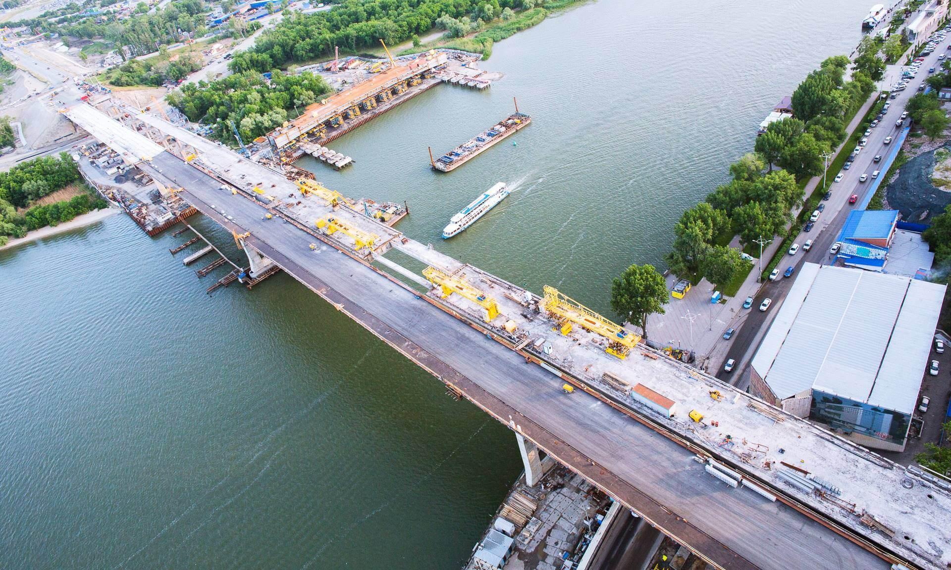 Rostov-on-don Voroshilovsky bridge
