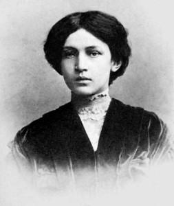Юная Анна Ахматова.