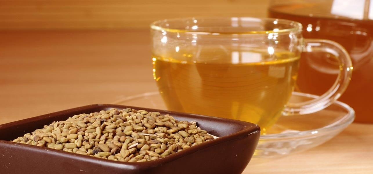 Хельба жёлтый чай