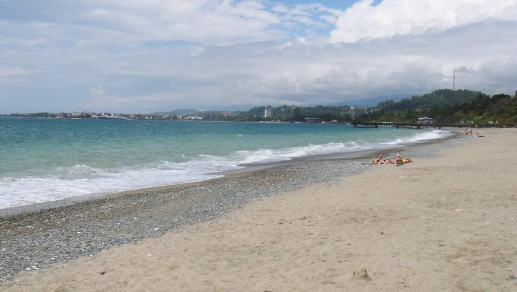 Синопский пляж Абхазия