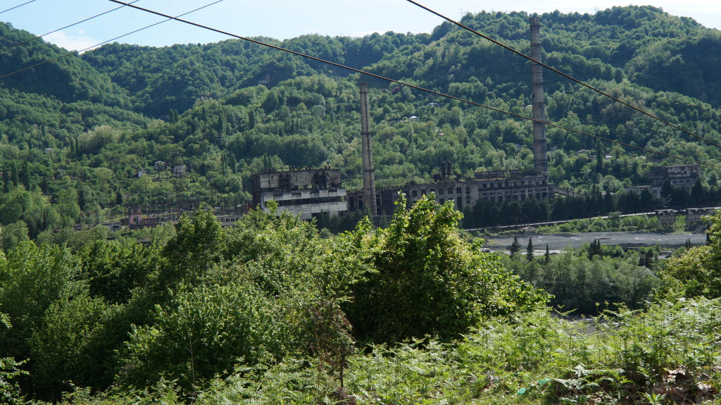 ГРЭС Ткварчели Абхазия