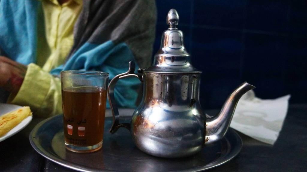 Берберский чай в Эссуэйре