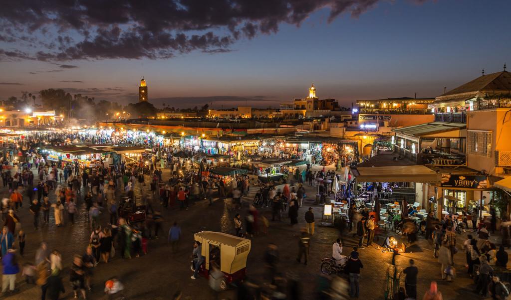 Мошенники на площади Джема-эль-Фна