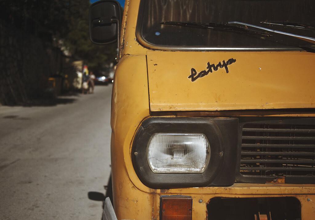 До Симеиза на автобусе