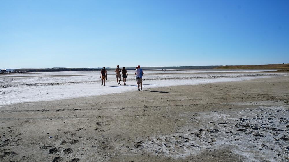 Отдых в Веселовке - грязи Соленого озера
