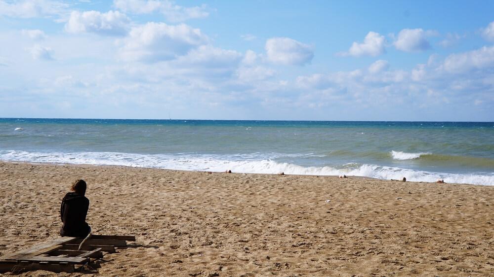 Отдых в Веселовке - пляж