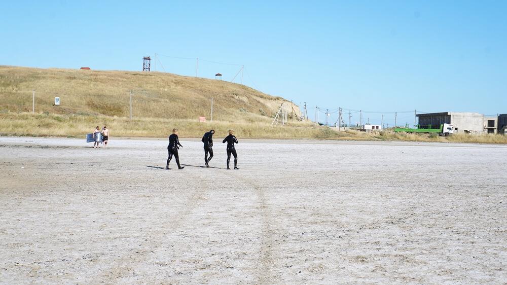 Отдых в Веселовке - Соленое озеро