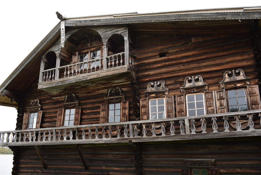 Дом Ошевнева, Кижи