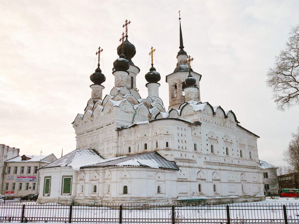 как добраться до Великого Устюга - церкви
