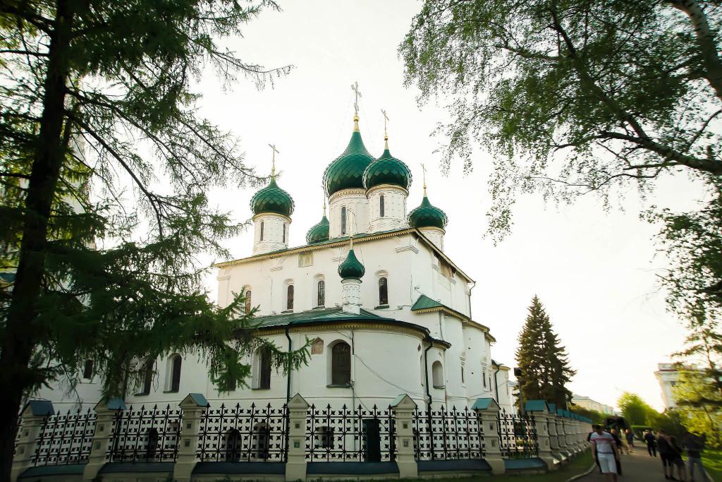 куда поехать осенью в России - Ярославль