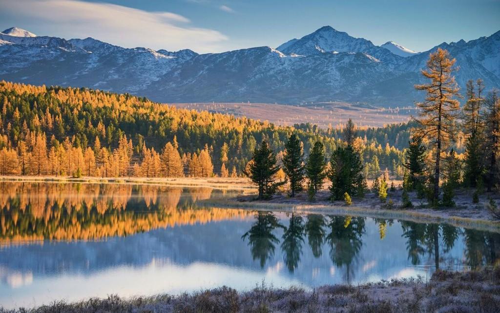 куда поехать осенью в России - Алтай