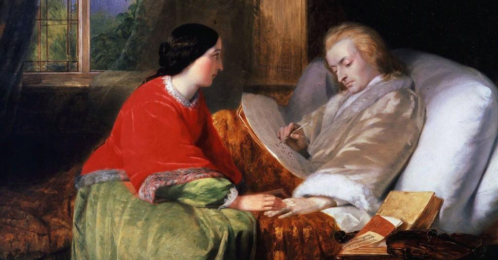 Интересные факты из жизни композиторов - Моцарт