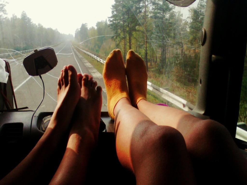 Как добраться до Байкала - автостопом