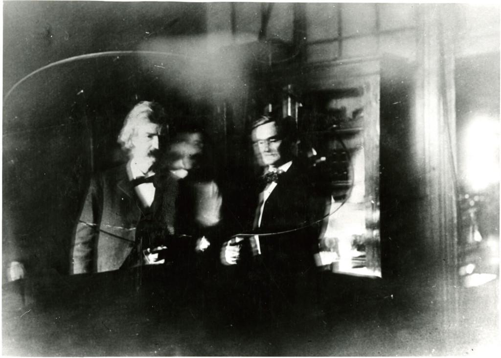 Интересные факты о Марке Твене - фото с Тесла