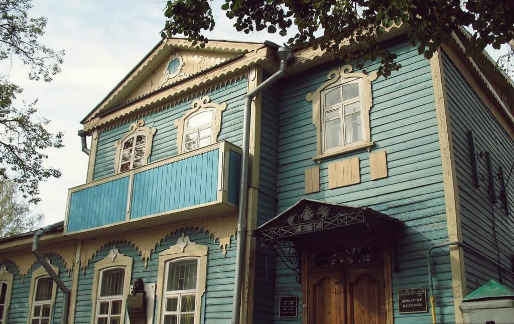 усадьбы русских писателей - дом Лескова