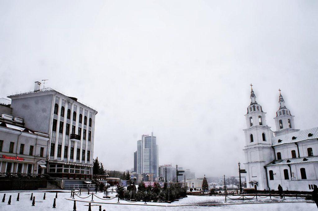 поездка в Минск - жилье в верхнем городе