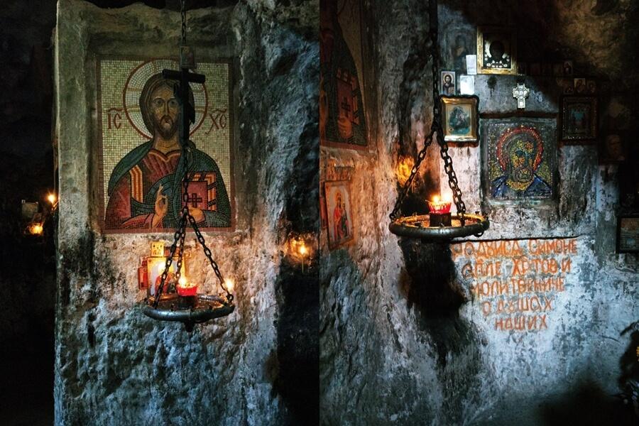 В келье святого апостола Симона Кананита