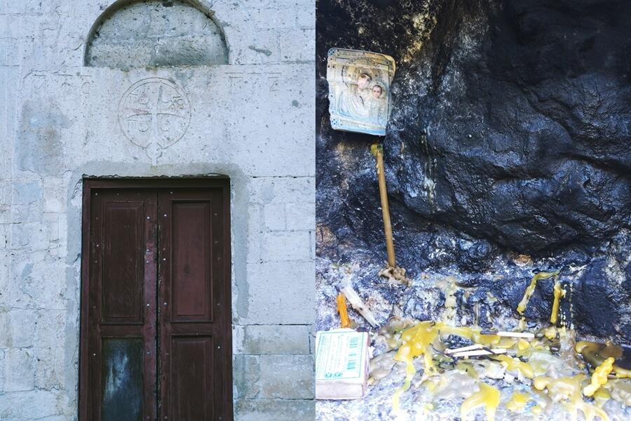 В храме Симона Кананита, Новый Афон