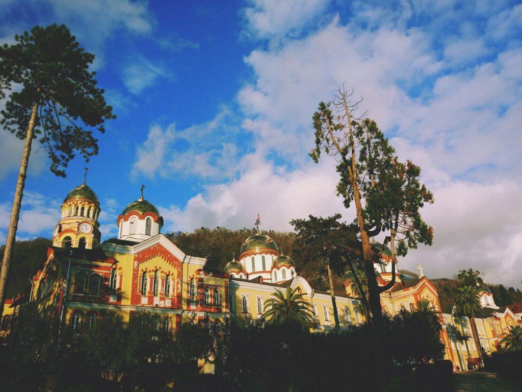 Где находится Новоафонский монастырь