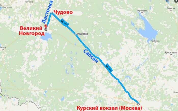 Как добраться до Великого Новгорода из Москвы - на сапсане или поезде