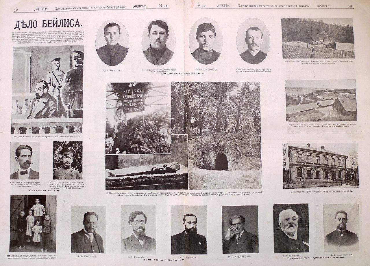 Интересные факты из биографии Короленко - дело Бейлиса