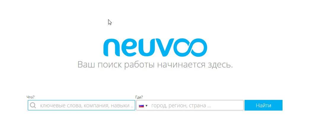 Обзор портала для поиска работы neuvoo.ru