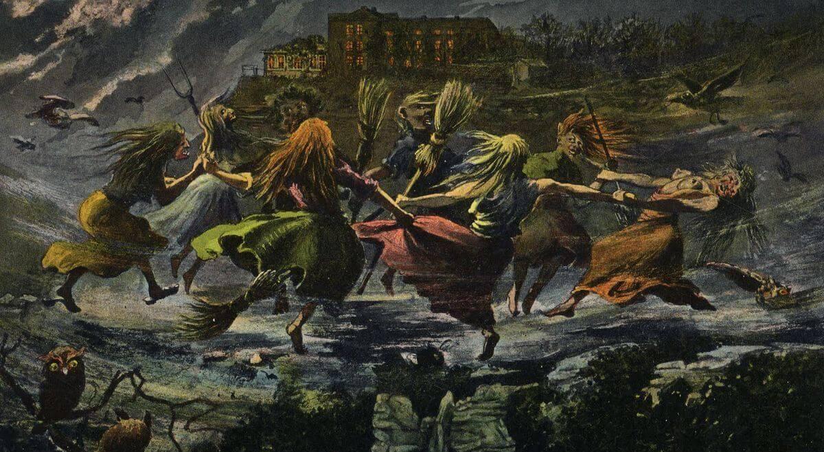 Этимология слов «ведьма», «вурдалак», «русалка» и «вампир»