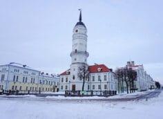 Отдых в Могилеве зимой